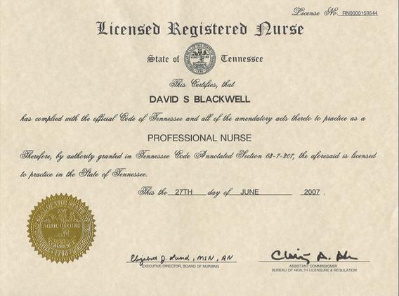 Licensed Registered Nurse