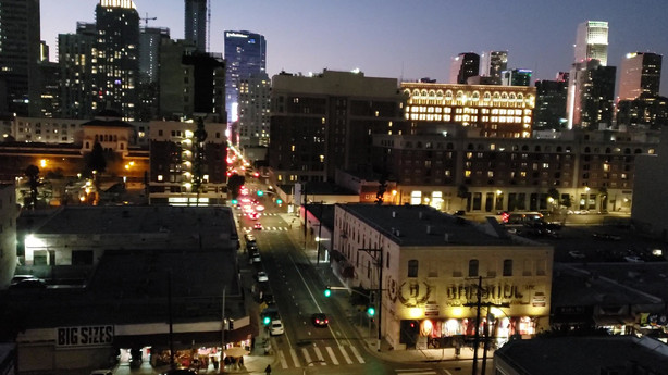 Downtown LA Skyline at Night