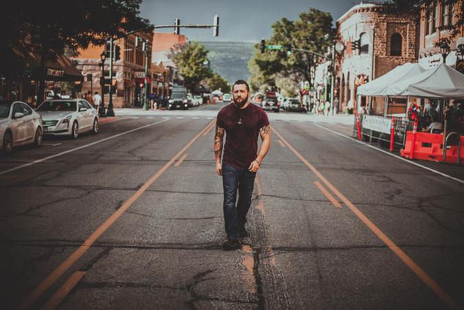 Downtown Durango CO Portrait