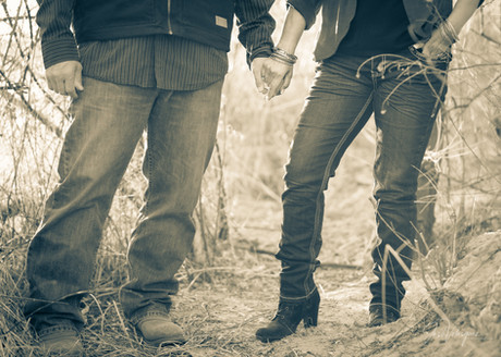 Engagement Session in Blanco NM
