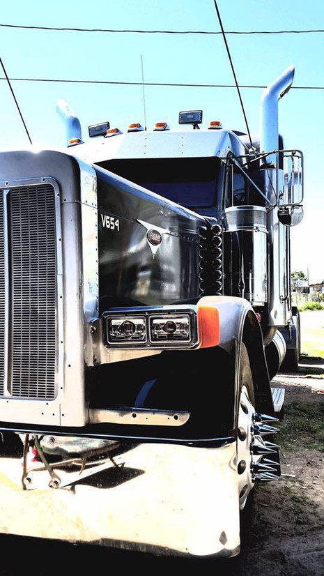 Trucking Commercial Photographer