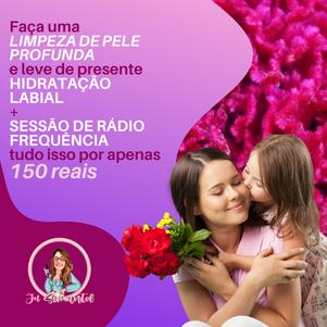 Post Rosa de Feliz Dia da Mulher para Re