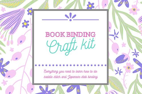 Book Binding craft kit- 10+