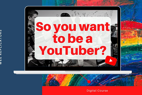 YouTubing digital course