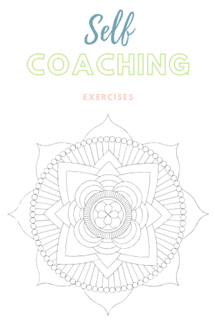 Self Coaching Printable (aimed at adults)