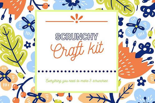 Scrunchy craft kit- 10+