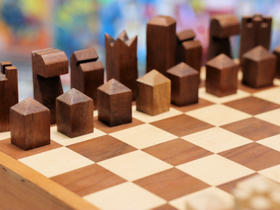 "Home-Crafted Chess Board Returns to Store after Popularity of ""The Queen's Gambit"""