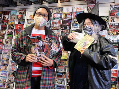 A Costume-Filled Free Comic Book Day