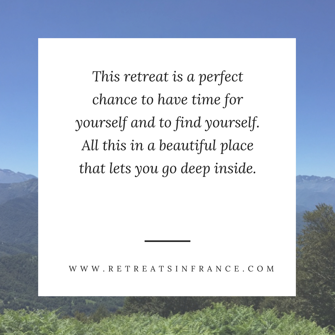 This retreat is a perfect chance to have time for yourself and to find yourself. All this in a beaut