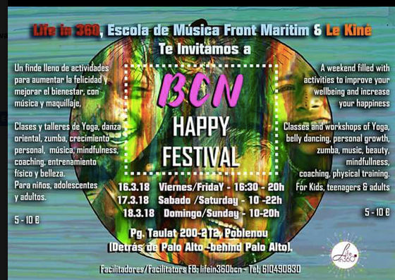 Happiness Festival, Barcelona