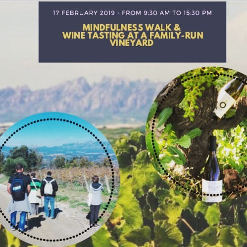 Mindfulness, walking and wine...what's not to like?!