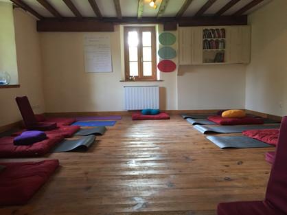 The meditation room