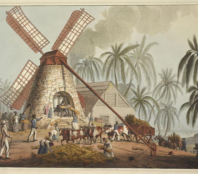 The mill yard