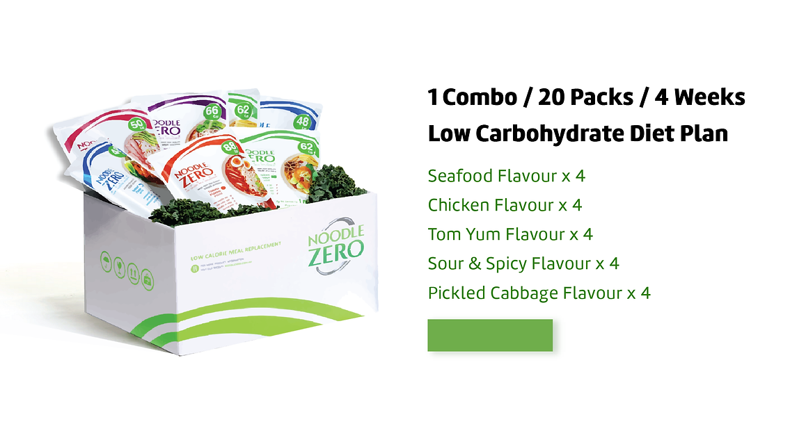 DIY Combo | NoodleZero Low Calorie Meal Replacement