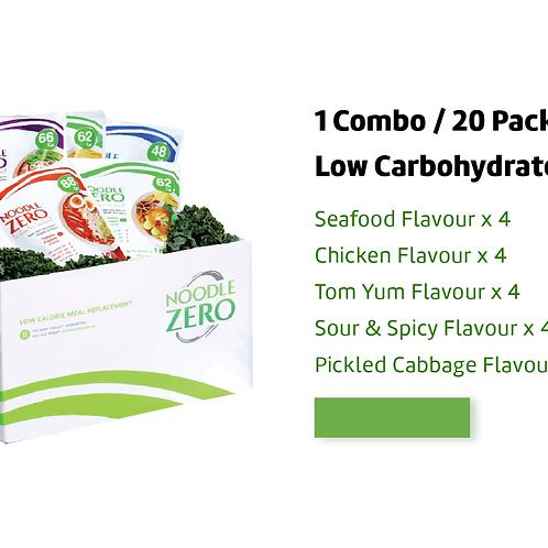 DIY Combo   NoodleZero Low Calorie Meal Replacement