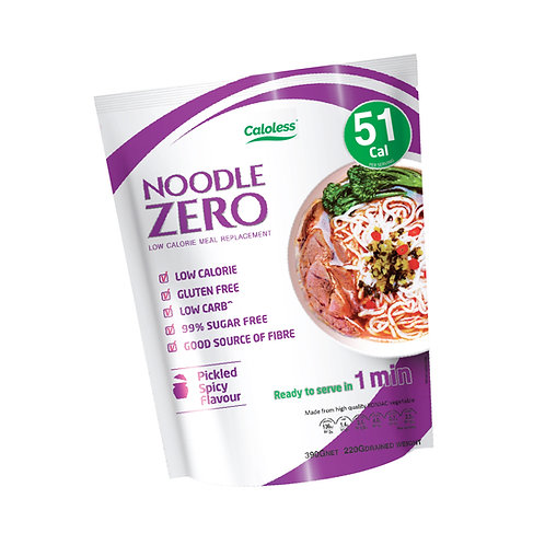 Pickled Spicy Flavour | NoodleZero Low Calorie Meal Replacement