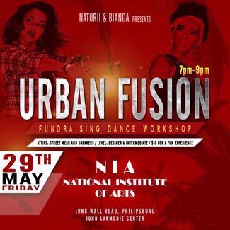 Urban Fusion Fundraising Dance Workshop