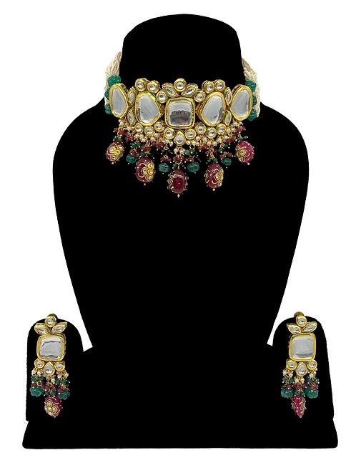 Pallavi necklace set