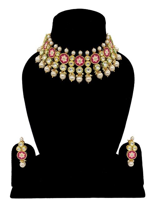 Meena necklace set