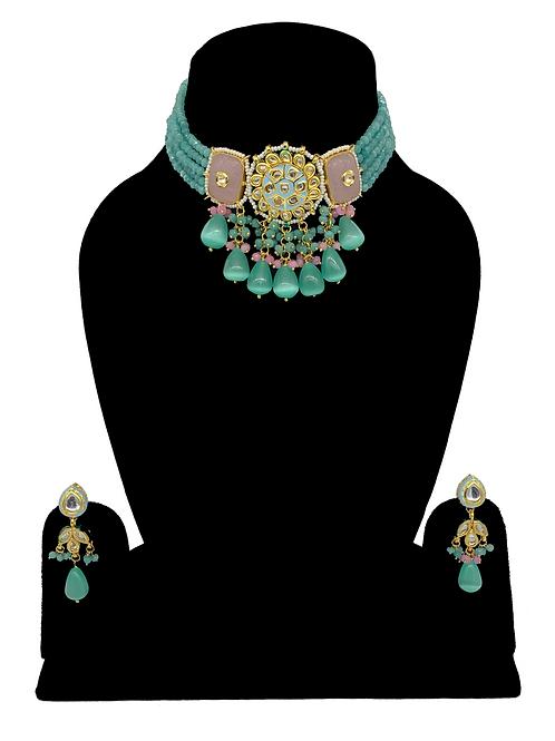 Pahal necklace set
