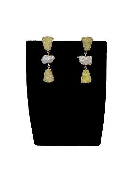 Bella baroque earrings