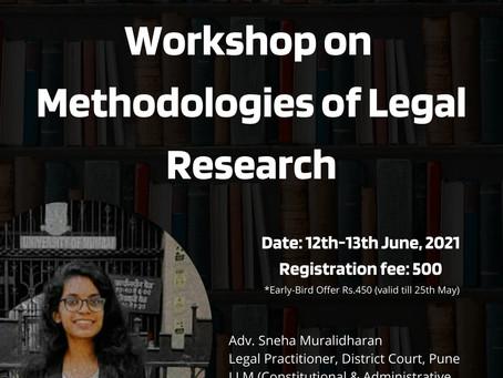WORKSHOP ON METHODOLOGIES OF LEGAL RESEARCH