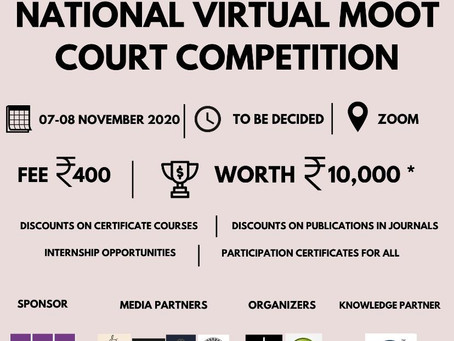 NATIONAL VIRTUAL MOOT COURT COMPETITION BY PARAMPARA