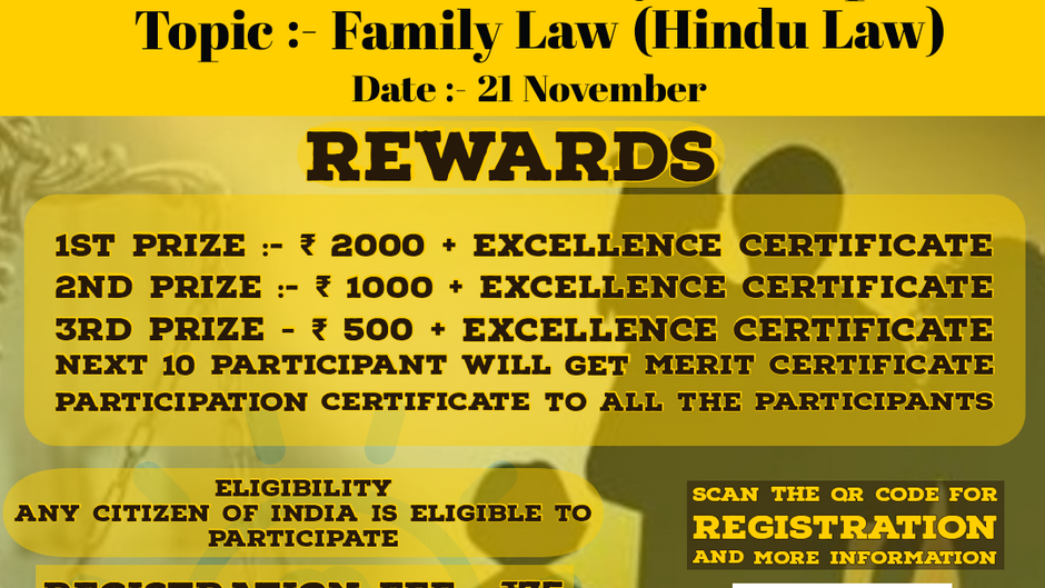 LAW GARDENER IN ASSOCIATION WITH BMS COLLEGE OF LAW  PRESENTS 6TH NATIONAL LEVEL QUIZ COMPETITION