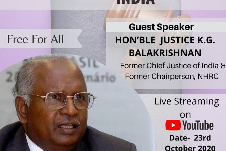 WEBINAR ON PROTECTIVE DISCRIMINATION IN CONSTITUTION OF INDIA