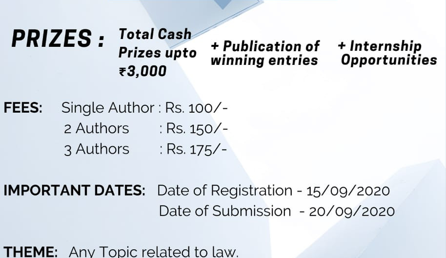 THE 1ST IRALR ARTICLE WRITING COMPETITION
