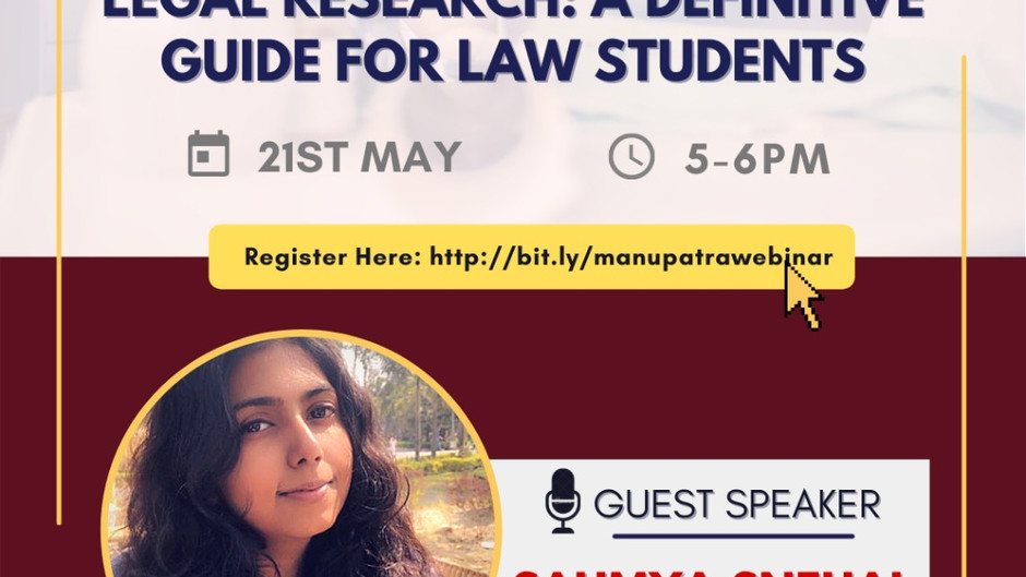 """""""LEGAL RESEARCH: A DEFINITE GUIDE FOR LAW STUDENTS"""""""