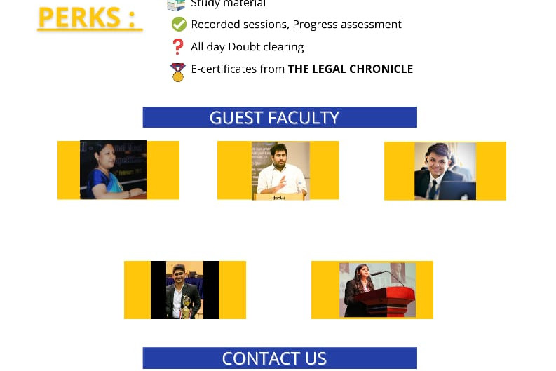 COURSE ON LEGAL RESEARCH AND WRITING