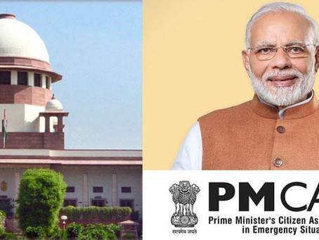 TRANSFER FUND COLLECTED UNDER PM CARES FUND TO NDRF: SC ISSUES NOTICE ON A PLEA
