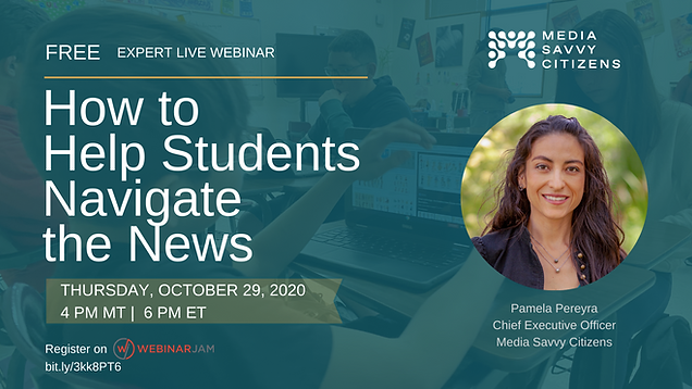 How to Help Students Navigate the News p