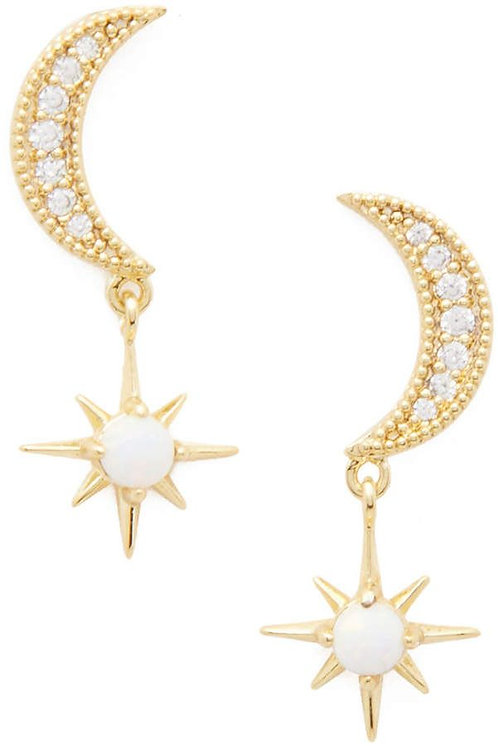 Gorjana Luna Studs Earrings