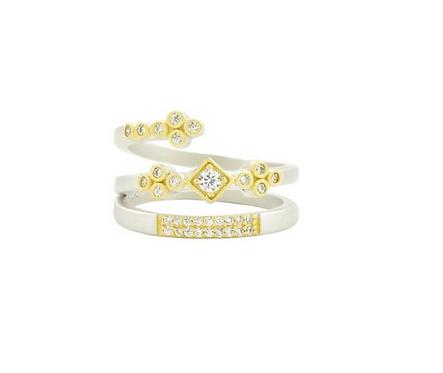 Freida Rothman Armor of Hope Spiral Ring