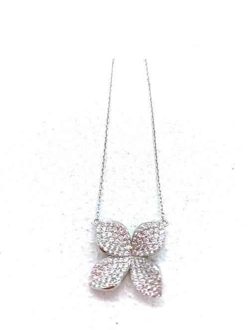 Silver Petals Pendant