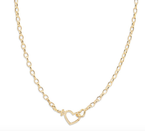 Gorjana Parker Heart Necklace