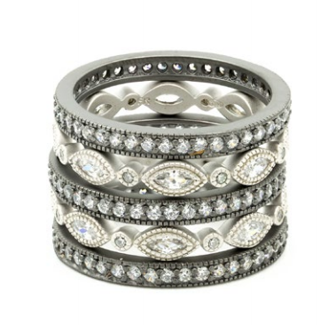 Freida Rothman The Everyday 5-stack Ring