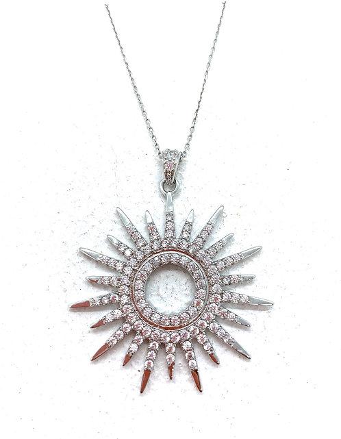 Sunburst pendant