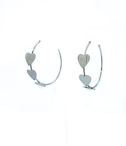 Triple Heart Hoops