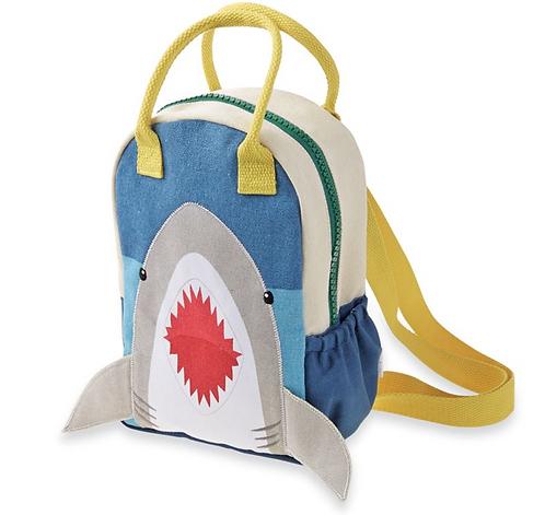 Mudpie Shark Kids Backpack