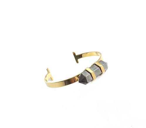 Maria Dolares Gold Cuff Bracelet