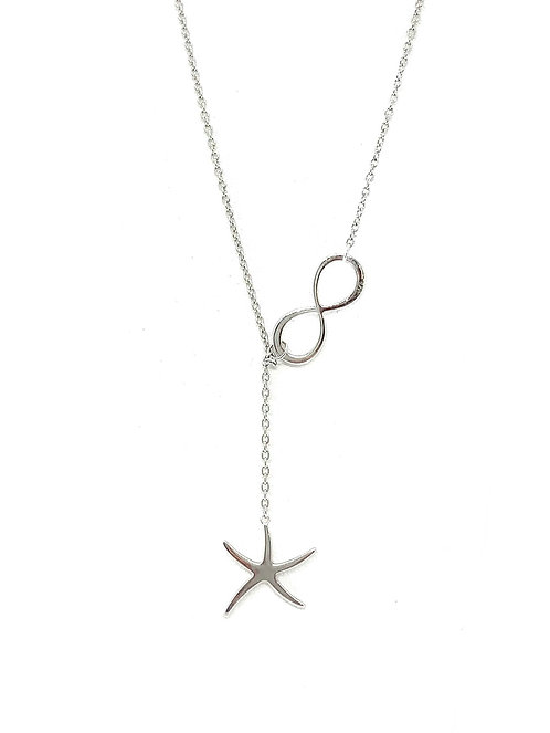 Starfish and Infinity Necklace