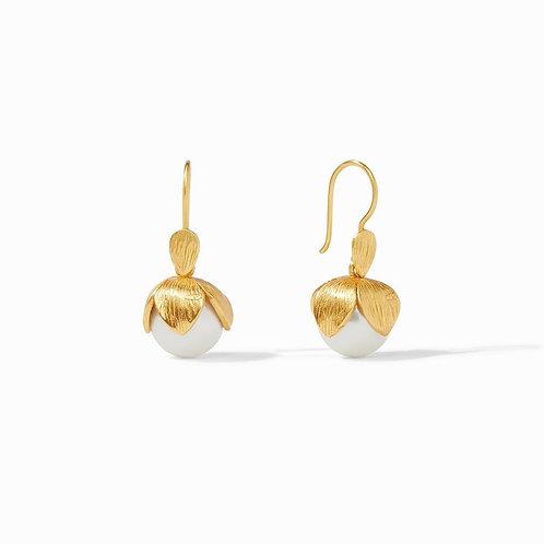 Penelope Earrings Gold Pearl