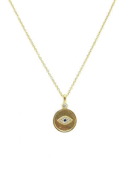 Gorjana Madison Evil Eye Necklace