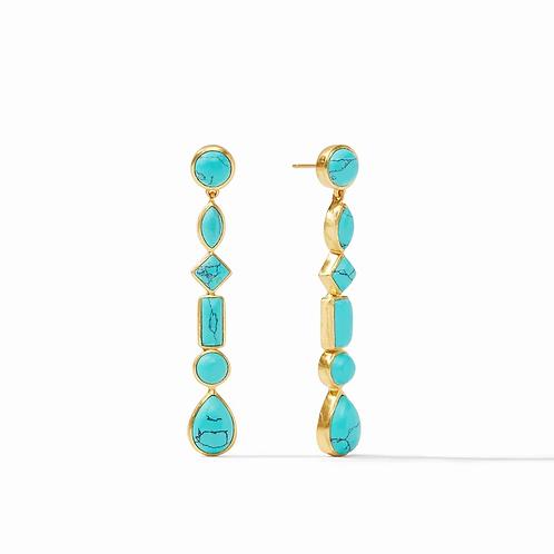 Julie Vos Savannah Turquoise Earrings