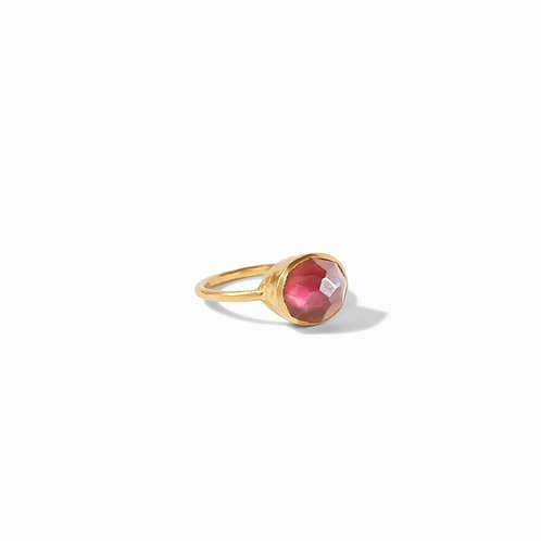 Julie Vos bordeaux stone ring