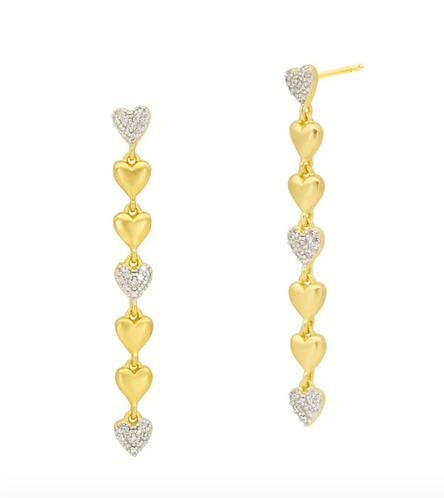 Freida Rothman From the Heart Linear Earring