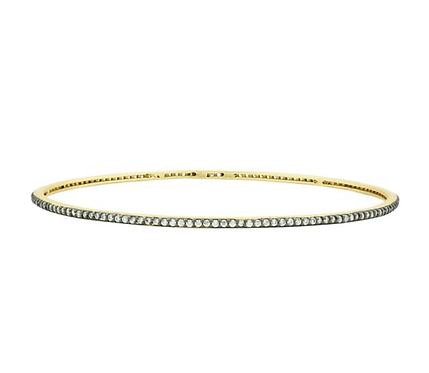 Freida Rothman Pave Slide On Bangle